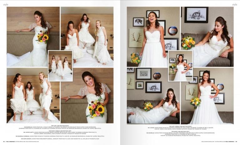 Real Weddings Magazine Lake Tahoe