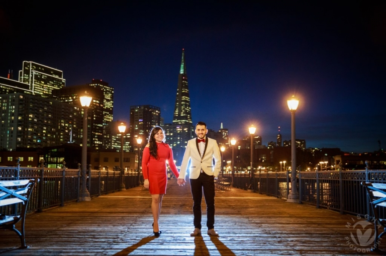SF after dark engagement