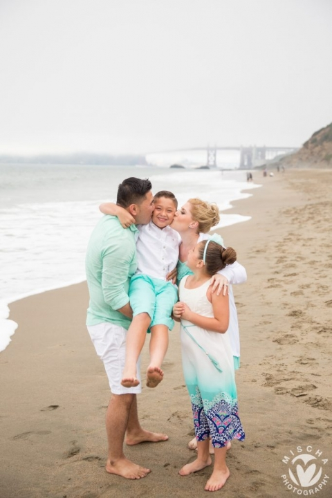 Baker Beach family portraits