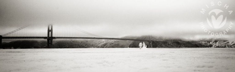 Crissy Fields Infrared Wedding Photography