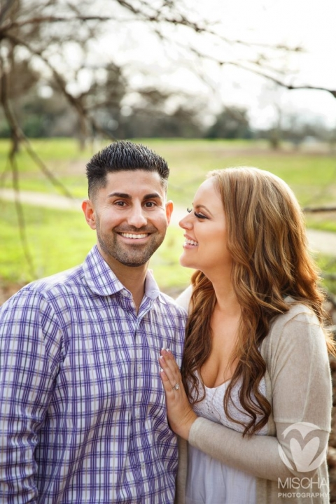 Sacramento engagement portrait