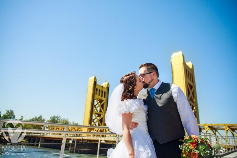 small Sacramento wedding