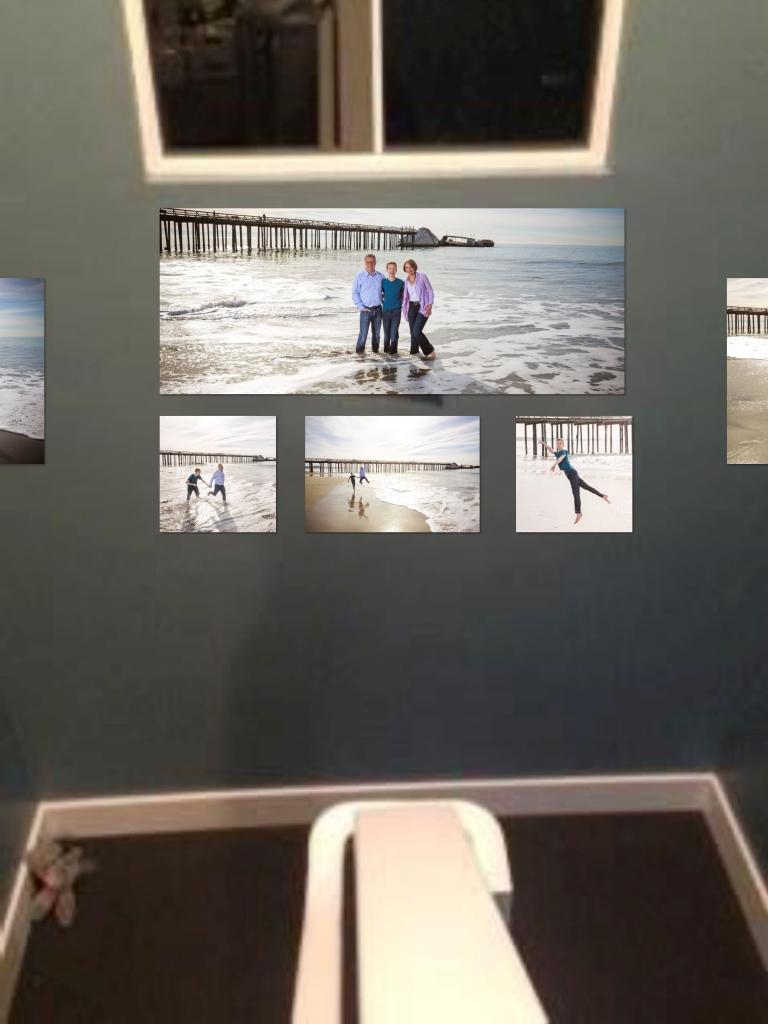 Wall display mock-up